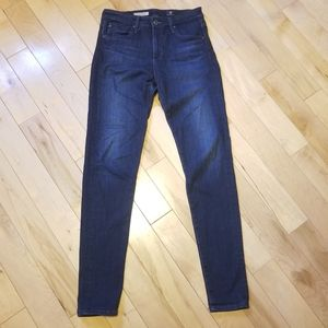 Ag Adriano Goldschmied Farrah hi rise skinny jeans